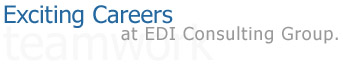 Exciting Careers at EDI Consulting Group